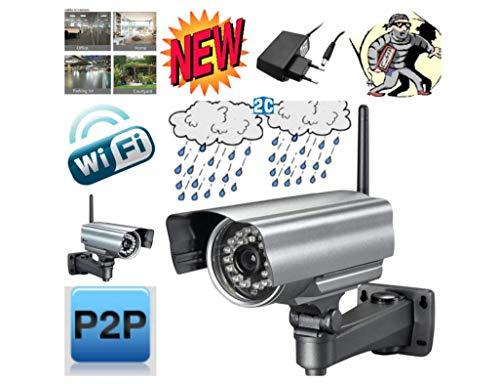 Telecamera IP esterna WiFi-G diurna/notturna IP Camera P2P Eesterno Waterproof