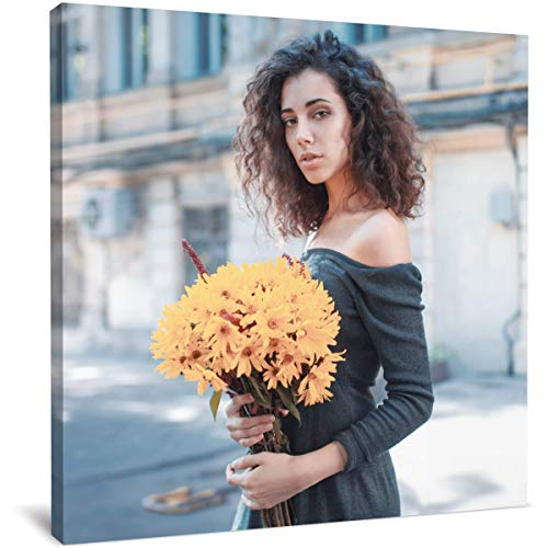 4bestprint Personalized canvas print - your own image on a professionally printed canvas with Your Photo Customized Gifts, Home Decoration, Digitally Printed (12