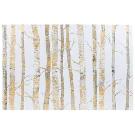 Cream & Gold Birch Trees Canvas Wall Decor | Hobby Lobby | 977991