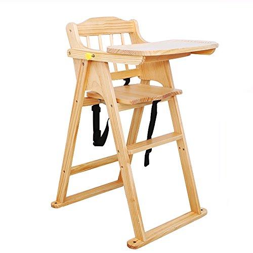LJHA Tabouret pliable Tabouret pliant en bois solide d'enfants/chaises de bébé/Seat d'enfant en bas âge (5 couleurs disponibles) chaise patchwork (Couleur : Couleur du bois)