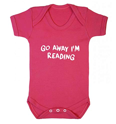 Flox Creative Gilet pour bébé Go Away I'm Reading - Rose - XL