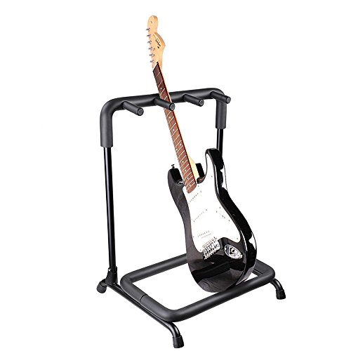 AW 3 Three Holder Multi Guitar Folding Stand Band Stage Bass Acoustic Guitar Display Rack