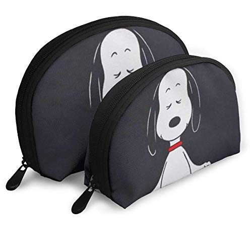 Let That Shit Go Makeup Bag Travel Bags Small Shell Bag Portable Toiletry Clutch Pouch 2Pcs