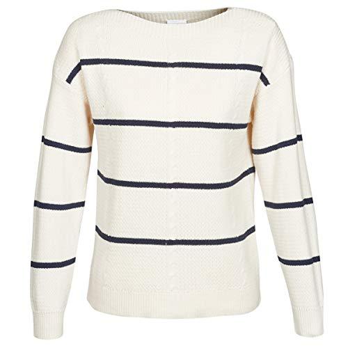 Vila Damen Pullover Sunset weiß XL