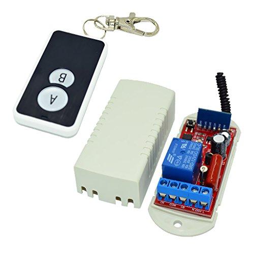 SDENSHI 110-220V Switch 433M Módulo 2 - Botón 1 - Controlador de Vía