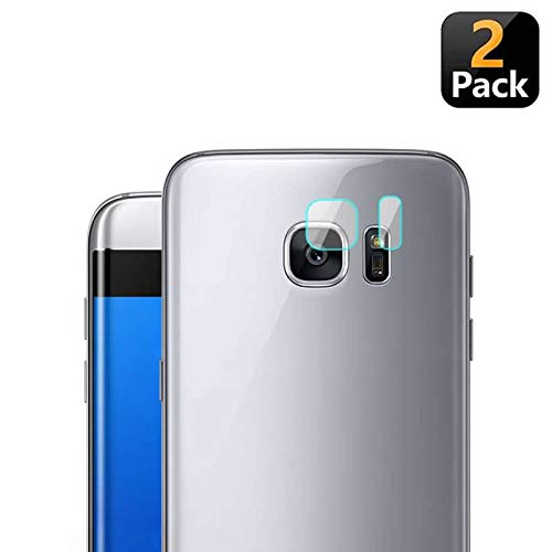 YANSHG® 2 Pack Rückseite Kamera Lens Protector 7.5H 2.5D Tempered Glass Protector Cover Guard für Samsung Galaxy S7/S7 Edge