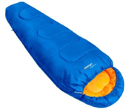 Vango Saturn Kids' Outdoor Sleeping Bag available in Atlantic - Size 170 x 70 cm [Amazon Exclusive]