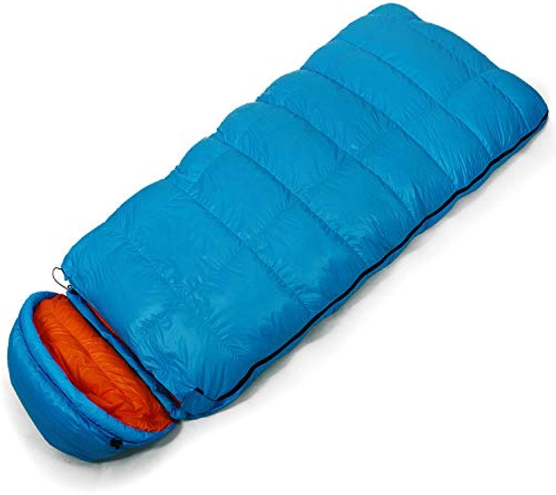 Hochwertige Herbst Winter Umschlag Schlafsack Erweiterung 1000g 90% -25 Grad Outdoor Camping Schlafsack gefüllt