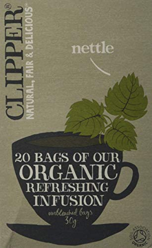 Clipper Ortie bio Boîte de 20 sachets de thé
