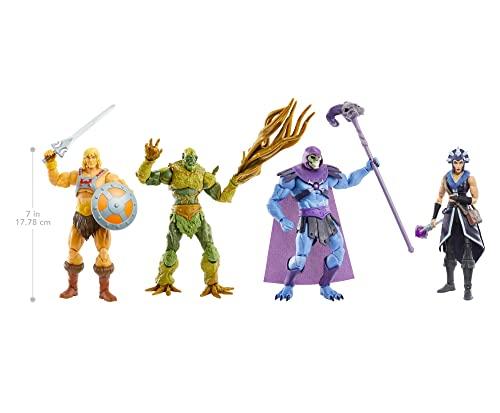 Masters of the Universe Revelation, Figura He-Man, muñeco articulado de juguete (Mattel GYV09)