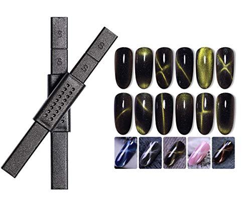 BrilliantDay yeux de chat Aimant bâton pour œil de chat Vernis gel Nail Art Outil de manucure gel UV Effet 3d outils#4