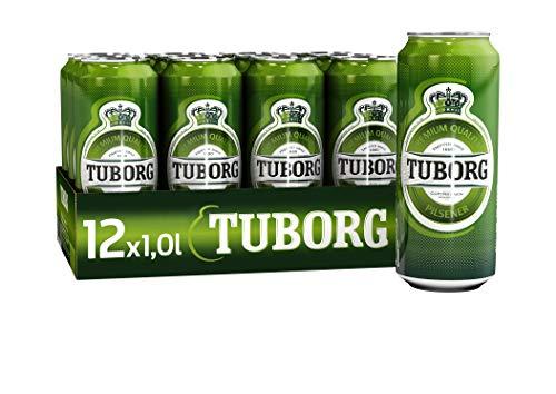 Tuborg Pilsener, Dose Einweg (12 x 1.0 l)