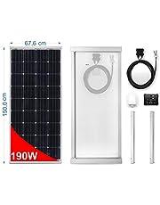 Panel Solar monocristallino para Camper