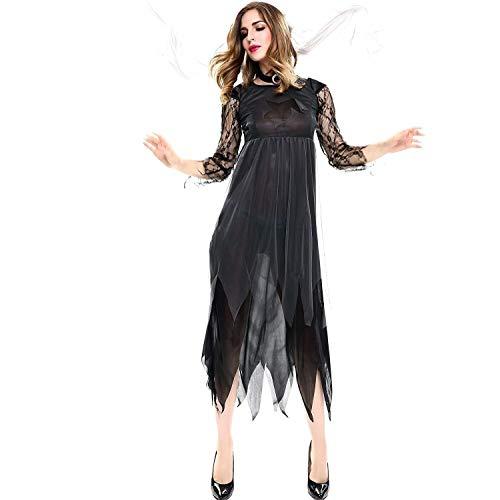 Hcxbb-b Costume da Sposa Vampiro di Halloween Costume da Strega Diavolo Angelo Oscuro Sexy di Halloween, Vestito da Costume for Cosplay for Adulti (Size : XXL)