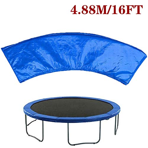 Jjwwhh Bounce Premium Trampoline Replacement Safety Pad (Spring Cover) | Fits for Round Frames Trampoline Padding for Maximum Safety,16FT