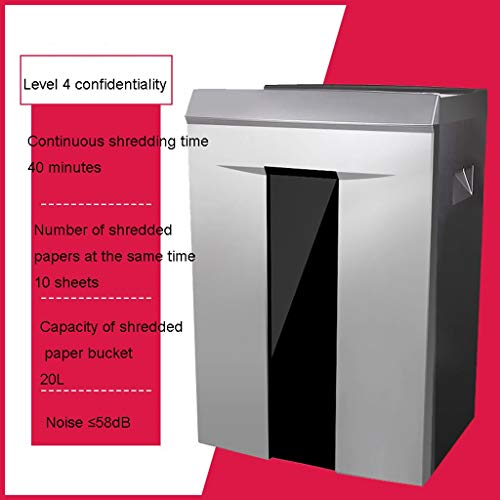 Amazing Deal TUCY Microcut Shredder with Pullout Basket,Autofeed,Overload and Thermal Protection, ...