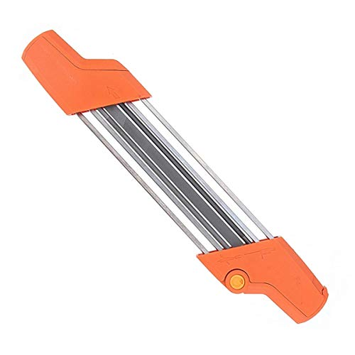 Toolyuan 2 in 1 Easy File Chainsaw Chain Sharpener Tool for Stihl Chainsaw 3/8