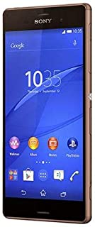 Sony Xperia Z3 D6653-32 GB, WiFi, 4G LTE, Copper