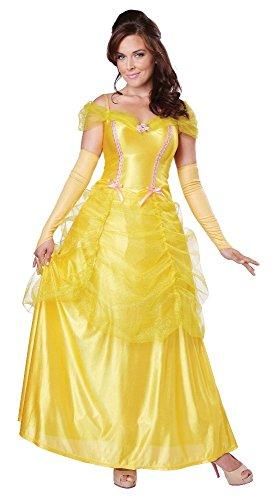 California Costumes Women's Classic Beauty Fairytale Princess Long Dress