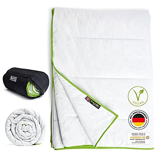 BLACKROLL® Recovery Blanket - 4 Jahreszeiten Bettdecke mit Primaloft®-Technologie. Made in Germany, atmungsaktive, vegane und Oeko Tex® zertifizierte Schlafdecke