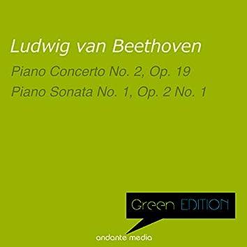 Green Edition - Beethoven: Piano Concerto No. 2 & Piano Sonata No. 1