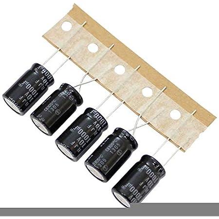 20x Elko Kondensator Radial 1000µf 6 3v 85 C Rea102m0jsa0811p 1000uf Beleuchtung