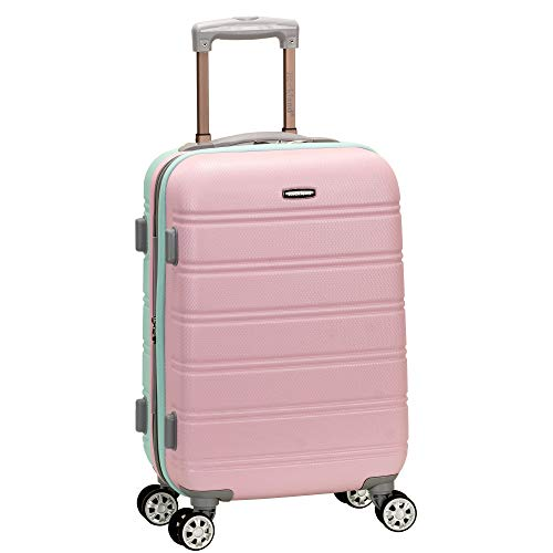 Rockland Melbourne Hardside Expandable Spinner Wheel Luggage, Mint