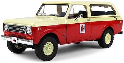 1979 International Scout Traveler Truck IH Dealer rot 1 25 by First Gear 40-0374 by International