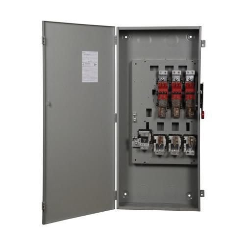 Cutler-Hammer DG General Duty Safety Switch, 240 VAC, 75 to 200 hp, 600 A, Single Throw Contact Form, 3 Poles