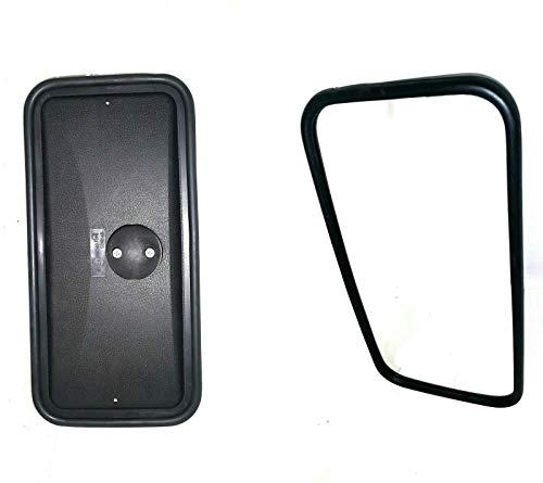 Truck mirror 37 x 18 cm universal rear view mirror