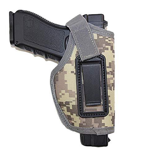 Pistolera Pistola Airsoft pistolera para Golck 17 18 19 22 26 Colt 1911 Makarov Holster Bag Estuche Universal para la Mano Derecha