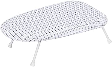STORAGE MANIAC Tabletop Ironing Board with Folding Legs, Extra Wide Countertop Ironing Board with Cotton Cover, Portable Mini Ironing Board for Sewing, Craft Room, Household, Dorm