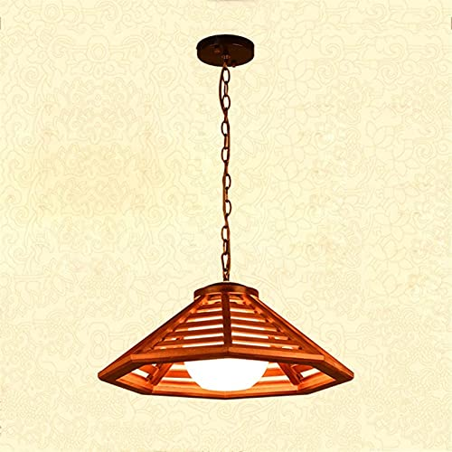 Araña Creativa Lámpara de Techo de araña de Madera Maciza de Madera Maciza ARCHANTELIZ Retra LÁMPARA Americana Lámpara Antigua E27 Soporte Chandelier Bar Mesa Lámpara Lámpara Aisle