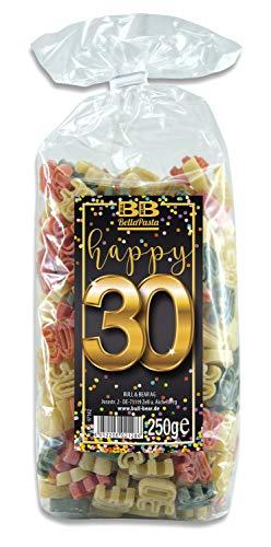Geburtstags-Nudeln 'Pasta Happy 30'