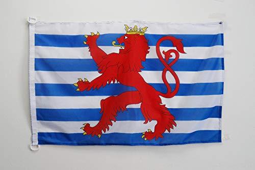 AZ FLAG Flagge Luxemburg MIT LÖWEN 90x60cm - LUXEMBURGISCHE Fahne 60 x 90 cm Aussenverwendung - flaggen Top Qualität
