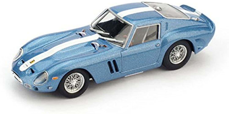 BRUMM BM0508-05 FERRARI 250 GTO 1962 blue GENZIANA METAL CHASSIS 3387 GT 1 43
