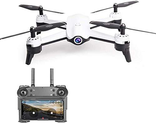 Mnjin Drone WiFi 4K HD Optical Flow Cámara Dual, posicionamiento GPS SIGA Quadcopter 25 Minutos de Juguete de Control Remoto de Larga duración