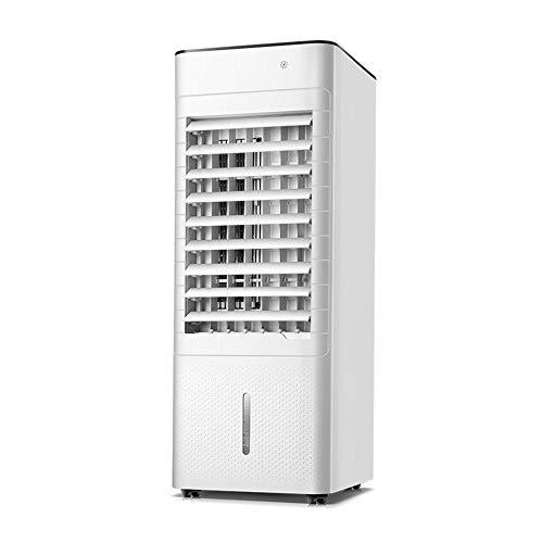 Ventilador de aire acondicionado, Enfriador de aire vertical móvil, Enfriador 3 en 1, Humidificador, Purificador, Aire acondicionado oscilante, control remoto, para el hogar y la oficina/A / 2