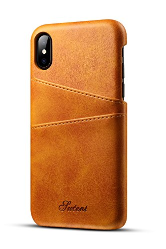 iPhone X/iPhone XS Wallet Phone Case, XRPow Slim PU Leather Back Protective Case Cover With Credit Card Holder for Apple iPhone X 5.8INCH