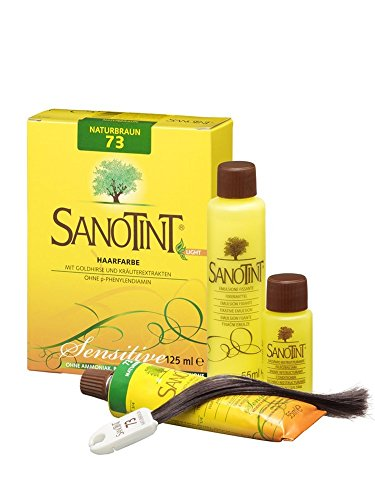 SANOTINT® Haarfarbe sensitive ?light? Nr. 73 ?Naturbraun? (125 ml)