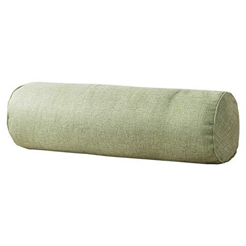 Rundhals-Nackenrolle, zylindrische Form, Nackenstützkissen zur Schmerzlinderung, abnehmbarer, waschbarer weicher Bezug zum Schlafen, Stuhl, Auto, Sofa