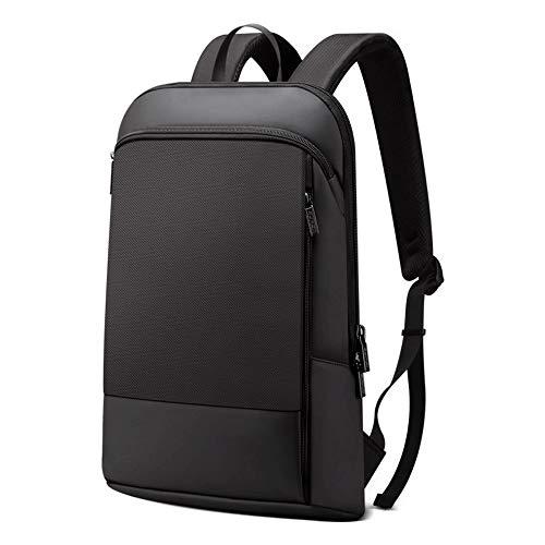 coxxlloo backpack for men Laptop Backpack Men 15.6 Inch Office Work Men Backpack Business Bag Unisex Black Ultralight Backpack Thin Back Pack
