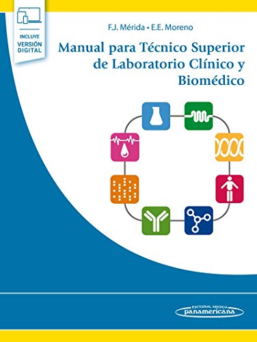 Manual para Técnico Superior De laboratorio clínico y Biomédico (Incluye e-book digital)
