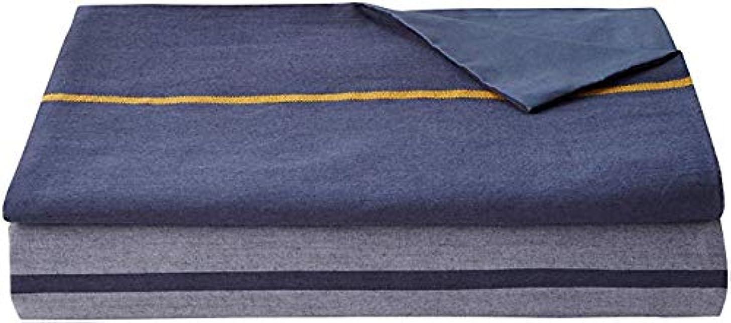 急流なだめる早める西川リビング ルクト ピローケース RC05 45×85cm ネイビー 2131-05919