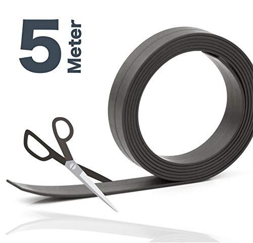 5 Meter Magnetklebeband Magnetstreifen Metallband Magnetfolie Band Klebeband Magnet Magnetband Klebestreifen selbstklebend