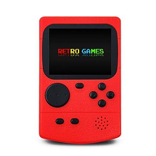FEIDAjdzf Retro Game Boy, Handheld Game Boy portátil Hd Lcd consola de juegos con 500 juegos clásicos 800 mAh batería recargable para niños y adultos