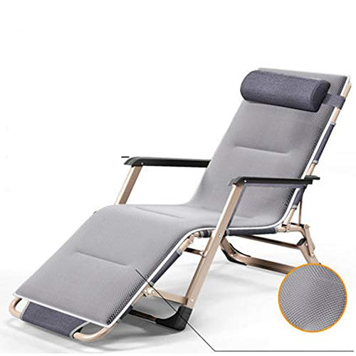 Oversized Padded Zero Gravity Chair,Adjustable Patio Lounge Recliner Chair,Folding Camping Chair for Outdoor Yard Porch