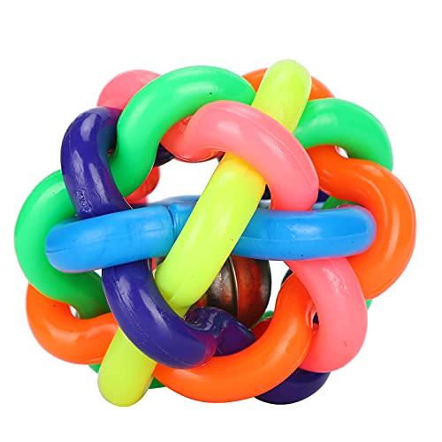 YIFengFurun Juguetes masticables para perros, juguetes chillones de goma, de color suave y duradero, para cachorros, pequeños, medianos y grandes (7,5 cm)