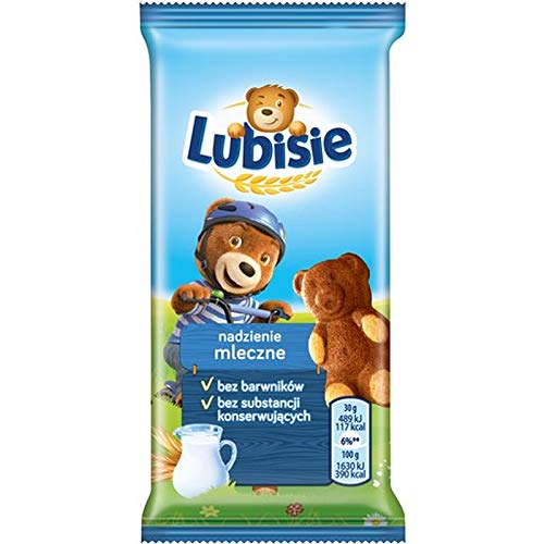 24x Lubisie Milchgeschmack ''Mleczne'' 30g (Karton)