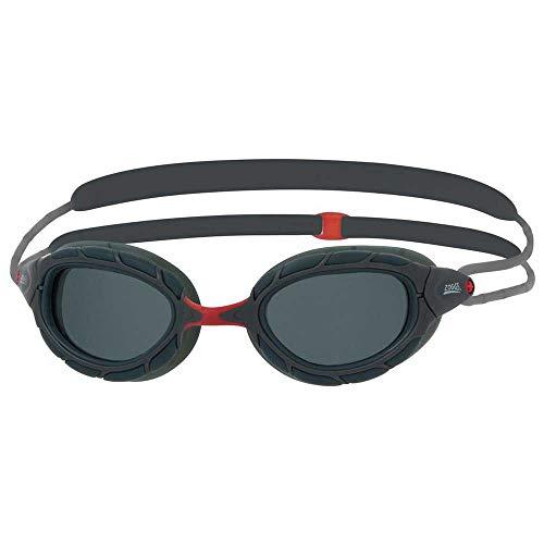 Zoggs Predator Polarized-Regular Fit - Occhialini da Nuoto, per Adulti, Unisex, Multicolore, Taglia Unica
